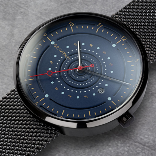 Argo Series 05 deep blue dial Swiss movement